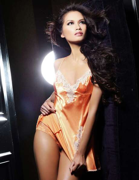Miss Philippines 2012, Janine Tugonon, is photographed by renowned fashion photographer Fadil Berish