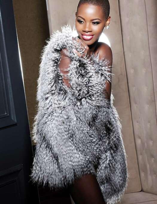 Miss St. Lucia 2012, Tara Edward, is photographed by renowned fashion photographer Fadil Berisha. Photo: Fadil Berisha, Miss Universe Organization / Miss Universe Organization