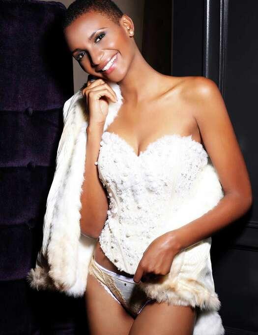 Miss Tanzania 2012, Winfrida Dominic, is photographed by renowned fashion photographer Fadil Berisha. Photo: Fadil Berisha, Miss Universe Organization / Miss Universe Organization