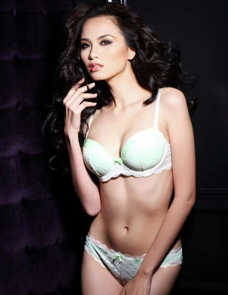 Miss Vietnam 2012, Diem Huong Luu, is photographed by renowned fashion photographer Fadil Berisha.