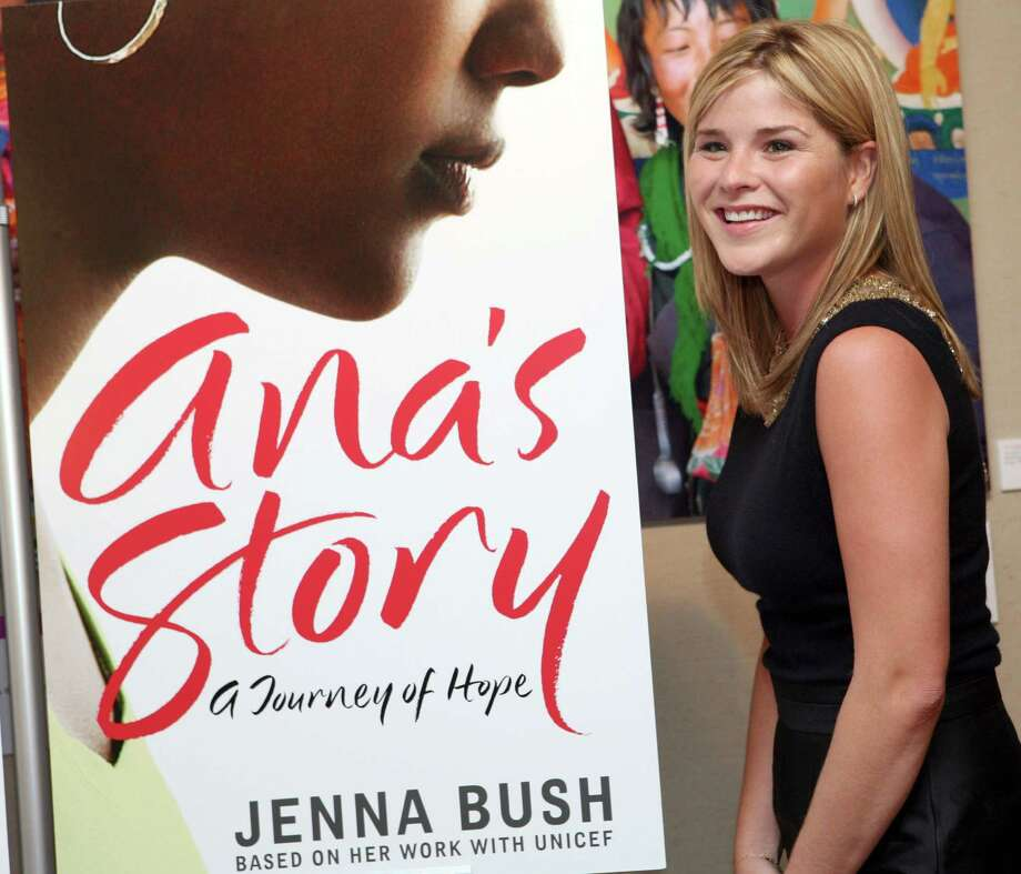 "Jenna Bush attends a party to celebrate her new book, ""Ana's Story: A Journey of Hope,"" Monday, Oct. 1, 2007, in New York. The book by President Bush's daughter is based on the life of a single mother living with HIV/AIDS and proceeds from the sale of the book will benefit UNICEF. Photo: Diane Bondareff, AP / AP"