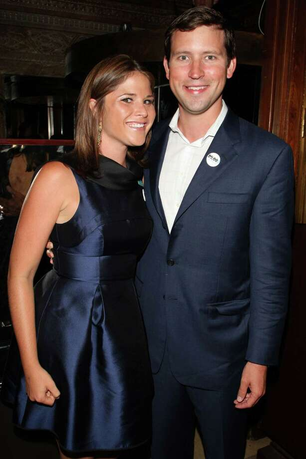 FILE - DECEMBER 11: According to reports, Jenna Bush Hager, daughter of former U.S. President George W. Bush, is pregnant with her first child. NEW YORK - JULY 23: Jenna Bush Hager (L) and Henry Hager attend the UNICEF Next Generation launch event at The Gates July 23, 2009 in New York City. Photo: Bryan Bedder, Getty Images / 2009 Getty Images
