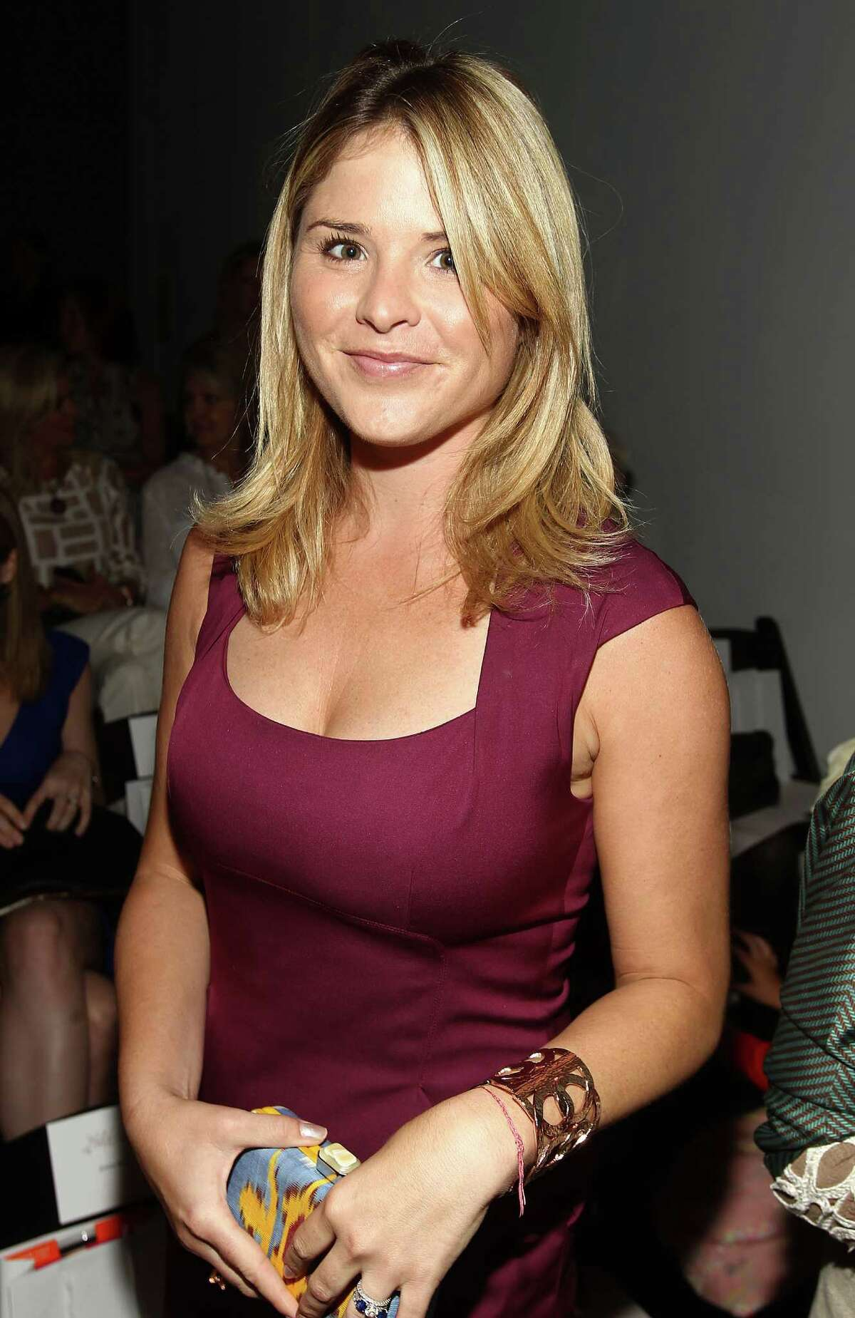 Jenna Bush Hager is seen at the Lela Rose Spring 2013 Runway Show, on Sunday, Sept. 9, 2012 in New York. (Photo by Donald Traill/Invision/AP Images)