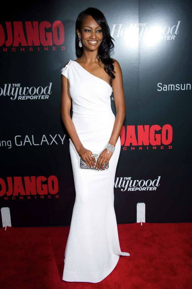 "Nichole Galicia attends the premiere of ""Django Unchained"" on Tuesday, Dec. 11, 2012 in New York. Photo: Charles Sykes, Charles Sykes/Invision/AP / Invision"