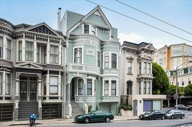 The two-level condominium is inside this Queen Anne Victorian home. Photo: Neil Fraser/Planomatic