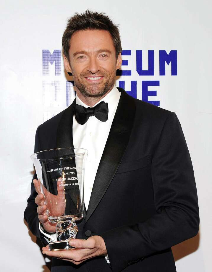 Honoree Hugh Jackman attends the Museum of the Moving Image Salute to Hugh Jackman at Cipriani Wall Street on Tuesday Dec. 11, 2012 in New York. Photo: Evan Agostini, Evan Agostini/Invision/AP / Invision