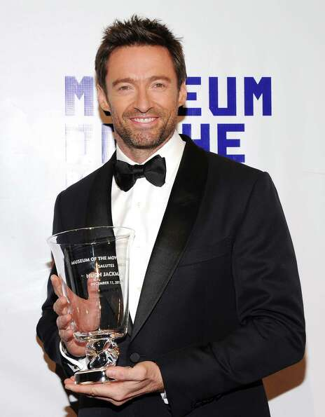 Honoree Hugh Jackman attends the Museum of the Moving Image Salute to Hugh Jackman at Cipriani Wall