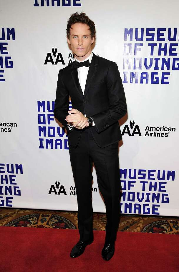 Actor Eddie Redmayne attends the Museum of the Moving Image Salute to Hugh Jackman at Cipriani Wall Street on Tuesday Dec. 11, 2012 in New York. Photo: Evan Agostini, Evan Agostini/Invision/AP / Invision