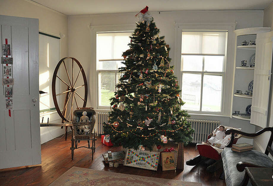 'A Victorian Christmas' is on display at the Rowayton Historical Society. Photo: Contributed Photo