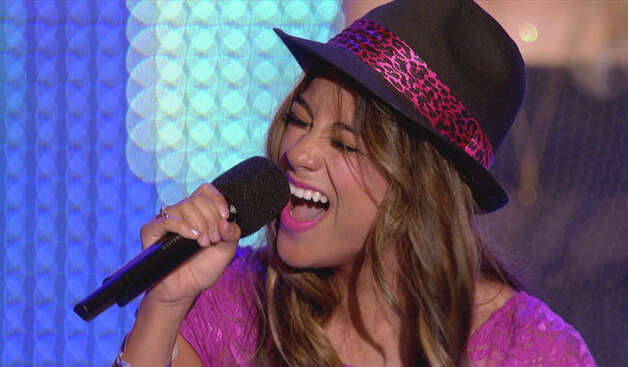 Ally Brooke, 19, who lives with her family in S.A., has made it to the Top 4 of 'X Factor.' Courtesy Fox