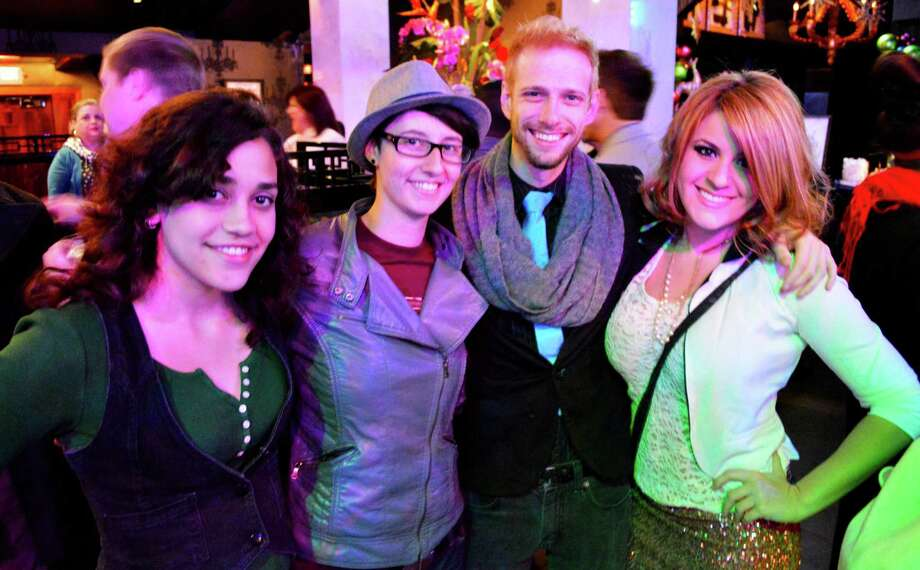 Ciara Ayala, from left, Chelsea Touchet, Joshua Kyle Hoppe and Kristina Prats