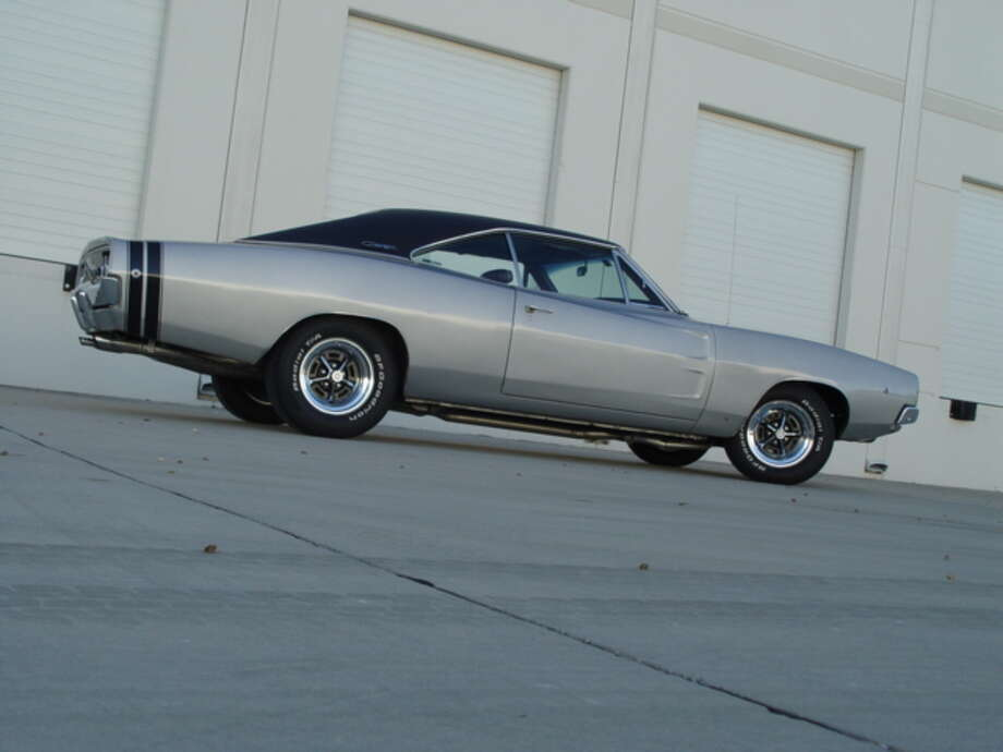 Scott Baker is the third owner of this 1968 Dodge Charger R/T, which he bought in 2004.