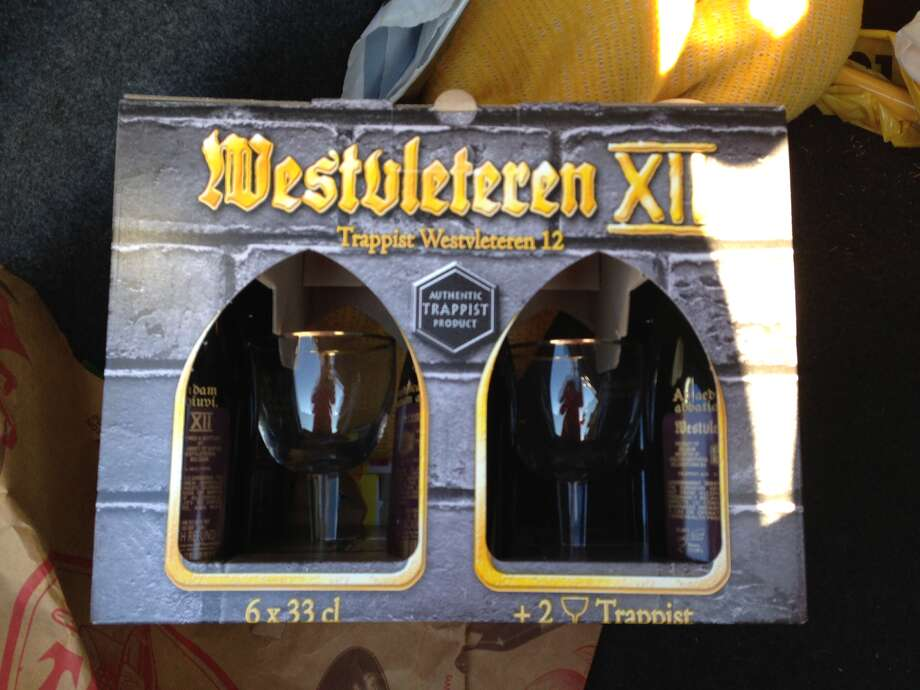 A gift pack of Westvleteren 12. Photo: Audrey Veneck