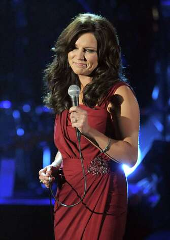 Martina McBride performs at the ALMA Awards on Sunday, Sept. 16, 2012, in Pasadena, Calif. (Photo by John Shearer/Invision/AP) Photo: John Shearer / Invision
