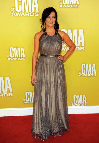 Martina McBride arrives at the 46th Annual Country Music Awards at the Bridgestone Arena on Thursday, Nov. 1, 2012, in Nashville, Tenn. (Photo by Chris Pizzello/Invision/AP) Photo: Chris Pizzello / Invision