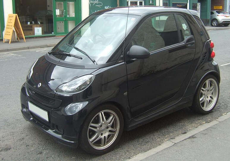 Smart Car Seattle: For Context, The Exterior Dimension Of A Smart Car Is