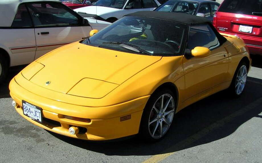 1990 Lotus Elan: The Elan had its golden years during the 1960s and 1970s, but the 1990s weren't kind to the model. Critics slammed Lotus for making a front-wheel drive sports car. (Photo: Dave_z28ca, Wikipedia)