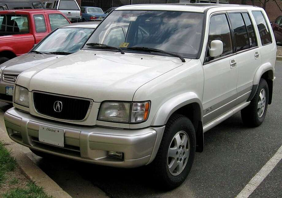 "1996 Acura SLX: The sports utility vehicle was supposed to fill the luxury SUV void in Acura's model line, and it certainly accomplished that goal. However, the SUV was declared a ""rollover hazard"" and ""not acceptable"" by Consumer Reports. (Photo: IFCAR, Wikipedia)"
