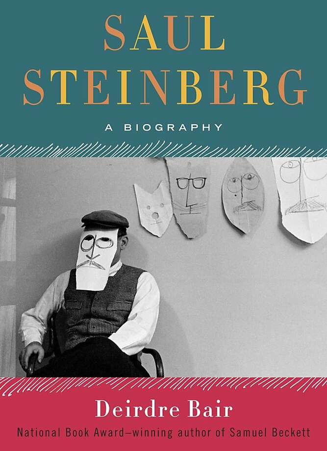 "This book cover image released by Doubleday/Nan A. Talese shows ""Saul Steinberg: A Biography,"" by Deirdre Bair. (AP Photo/Doubleday/Nan A. Talese) Photo: Associated Press"
