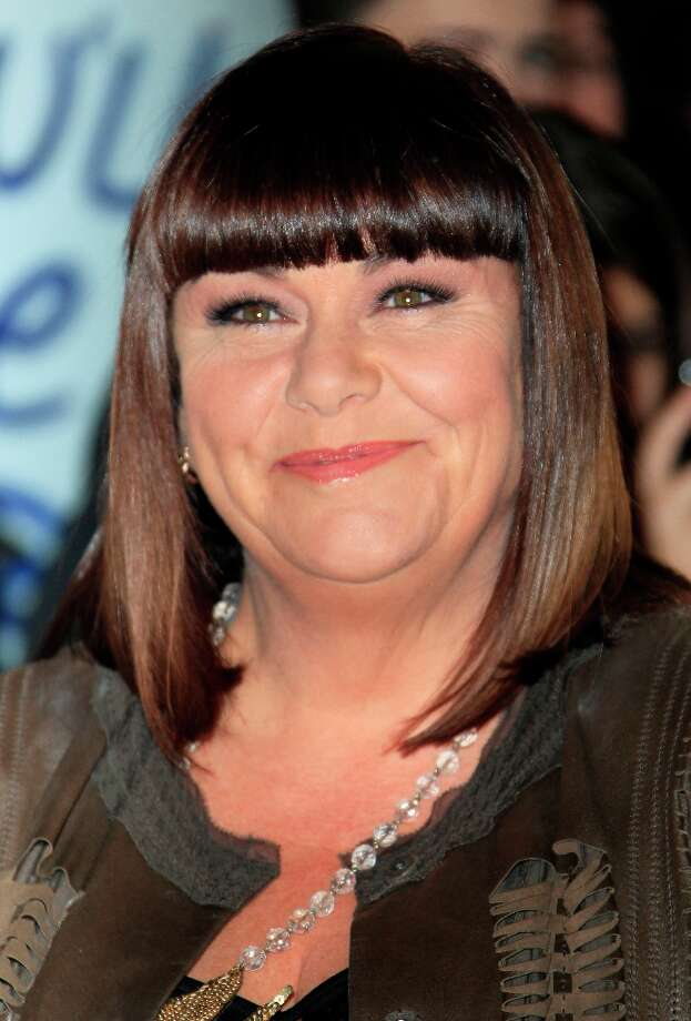 Dawn French arrives for 'Viva Forever!' Press Night, a musical based on the songs of the Spice Girls, Tuesday, Dec. 11, 2012. (Photo by Joel Ryan/Invision/AP) Photo: Joel Ryan, Joel Ryan/Invision/AP / Invision2012