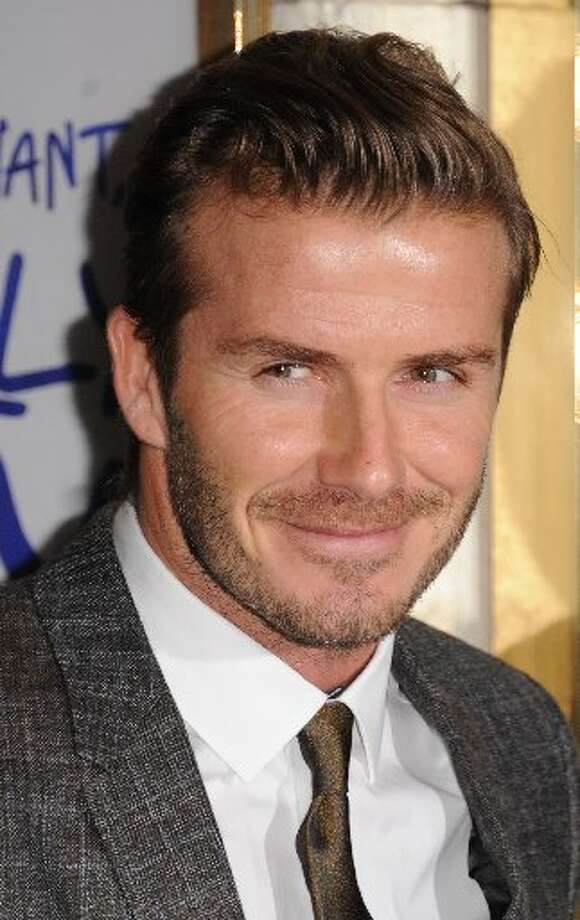 David Beckham attends the press night of 'Viva Forever', a musical based on the music of The Spice Girls at Piccadilly Theatre on December 11, 2012 in London, England. (Photo by Stuart Wilson/Getty Images) (Stuart Wilson/Getty Images))