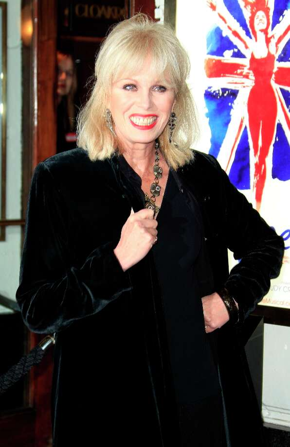 Joanna Lumley arrives for 'Viva Forever!' Press Night, a musical based on the songs of the Spice Girls, Tuesday, Dec. 11, 2012. (Photo by Joel Ryan/Invision/AP) Photo: Joel Ryan, Joel Ryan/Invision/AP / Invision2012