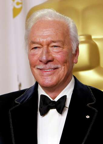 "FILE - In this Feb. 26, 2012 file photo, actor Christopher Plummer poses back stage after winning an Oscar for best supporting actor for ""Beginners"" during the 84th Academy Awards  in the Hollywood section of Los Angeles. Plummer's haunting portrayal of John Barrymore is being given a new audience. Producers said Tuesday that the film A'A""BarrymoreA'A"" will be shown at cinemas in Canada beginning in May and throughout the United States, Europe, Australia, New Zealand, South Africa and other countries in October. A'A""BarrymoreA'A"" _ a two-person play exploring the life of famed actor John Barrymore _ earned Plummer a Tony in 1997. Last year, the actor recreated his performance for multiple high-definition cameras. (AP Photo/Joel Ryan, file) Photo: Joel Ryan / 2012 AP"