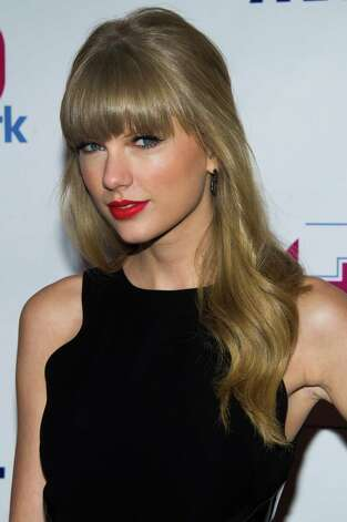 Taylor Swift attends Z100's Jingle Ball on Friday, Dec. 7, 2012 in New York. (Photo by Charles Sykes/Invision/AP) Photo: Charles Sykes