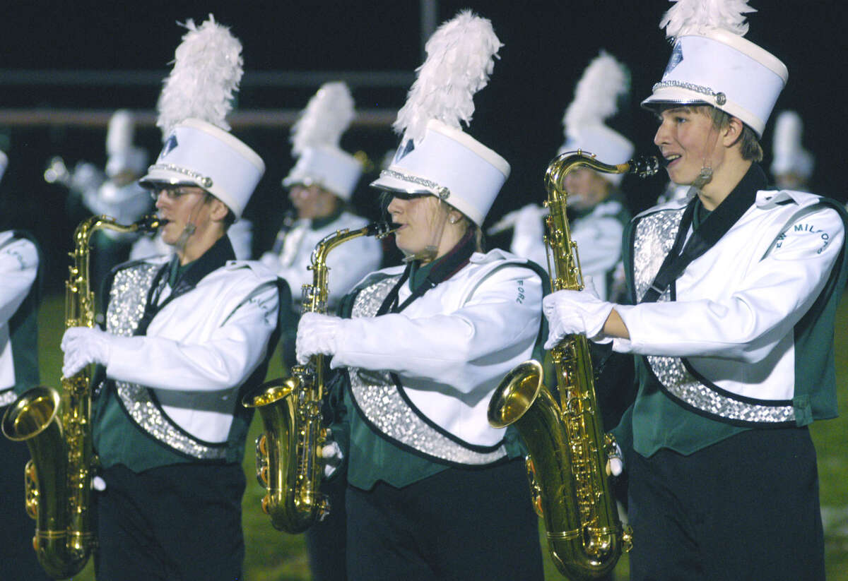 The New Milford High School marching band and color guard will be traveling soon to perform in competition in Florida. December 2012
