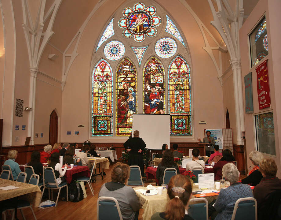 "The Brazilian Immigrant Center's ""Women Serving Women"" luncheon at St. John's Episcopal Church in Bridgeport on Wednesday, December 12, 2012. Photo: Brian A. Pounds / Connecticut Post"