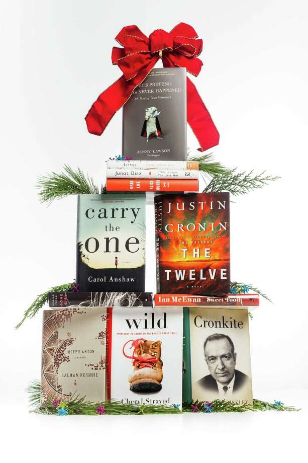 Books you will never read make a good gift for someone else.  Photo: Michael Paulsen, Staff / © 2012 Houston Chronicle