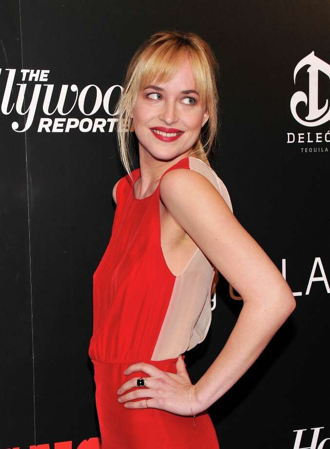Dakota Johnson attends a screening of Django Unchained hosted by The Weinstein Company with The Hollywood Reporter, Samsung Galaxy and The Cinema Society at Ziegfeld Theater on December 11, 2012 in New York City.  (Photo by Stephen Lovekin/Getty Images) Photo: Stephen Lovekin, Getty Images / 2012 Getty Images