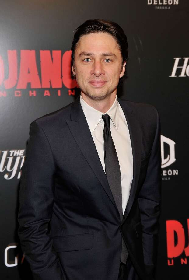 Zach Braff attends a screening of Django Unchained hosted by The Weinstein Company with The Hollywood Reporter, Samsung Galaxy and The Cinema Society at Ziegfeld Theater on December 11, 2012 in New York City.  (Photo by Stephen Lovekin/Getty Images) Photo: Stephen Lovekin, Getty Images / 2012 Getty Images