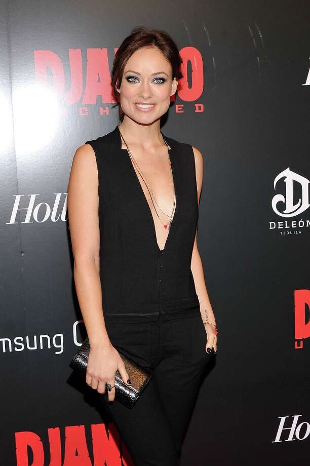 Olivia Wilde attends The Weinstein Company With The Hollywood Reporter, Samsung Galaxy And The Cinema Society Host A Screening Of Django Unchained at Ziegfeld Theater on December 11, 2012 in New York City.  (Photo by Stephen Lovekin/Getty Images) Photo: Stephen Lovekin, Getty Images / 2012 Getty Images