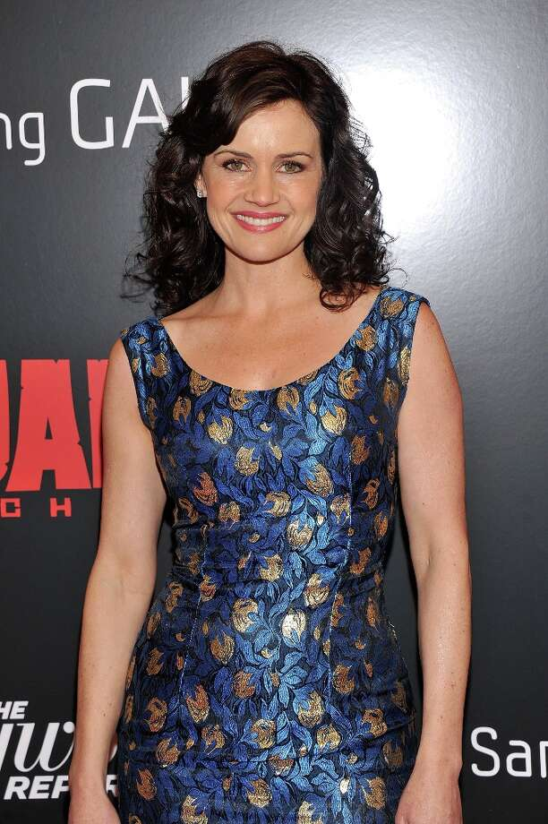 Carla Gugino attends  screening of Django Unchained hosted by The Weinstein Company with The Hollywood Reporter, Samsung Galaxy and The Cinema Society at Ziegfeld Theater on December 11, 2012 in New York City.  (Photo by Stephen Lovekin/Getty Images) Photo: Stephen Lovekin, Getty Images / 2012 Getty Images
