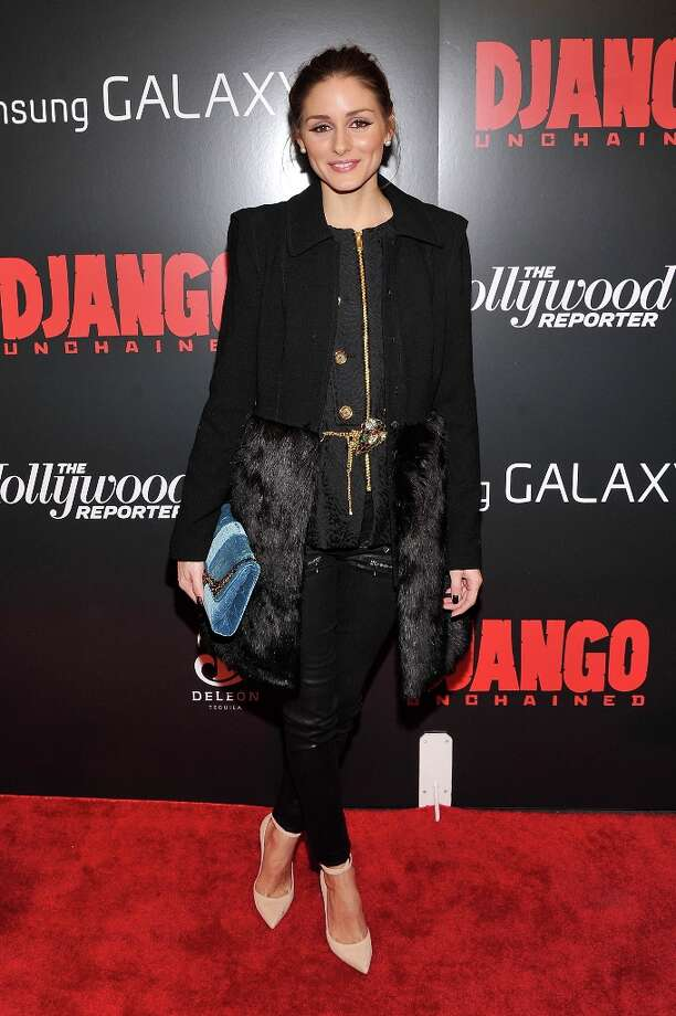 Olivia Palermo attends a screening of Django Unchained hosted by The Weinstein Company with The Hollywood Reporter, Samsung Galaxy and The Cinema Society at Ziegfeld Theater on December 11, 2012 in New York City.  (Photo by Stephen Lovekin/Getty Images) Photo: Stephen Lovekin, Getty Images / 2012 Getty Images