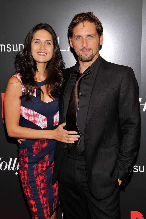 Josh Lucas and Jessica Lucas attend a screening of Django Unchained hosted by The Weinstein Company with The Hollywood Reporter, Samsung Galaxy and The Cinema Society at Ziegfeld Theater on December 11, 2012 in New York City.  (Photo by Stephen Lovekin/Getty Images) Photo: Stephen Lovekin, Getty Images / 2012 Getty Images