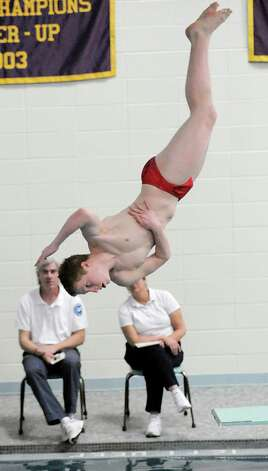 Expect diver Jeff Aselin to make a splash once again for the Cardinals. Photo: Bob Luckey