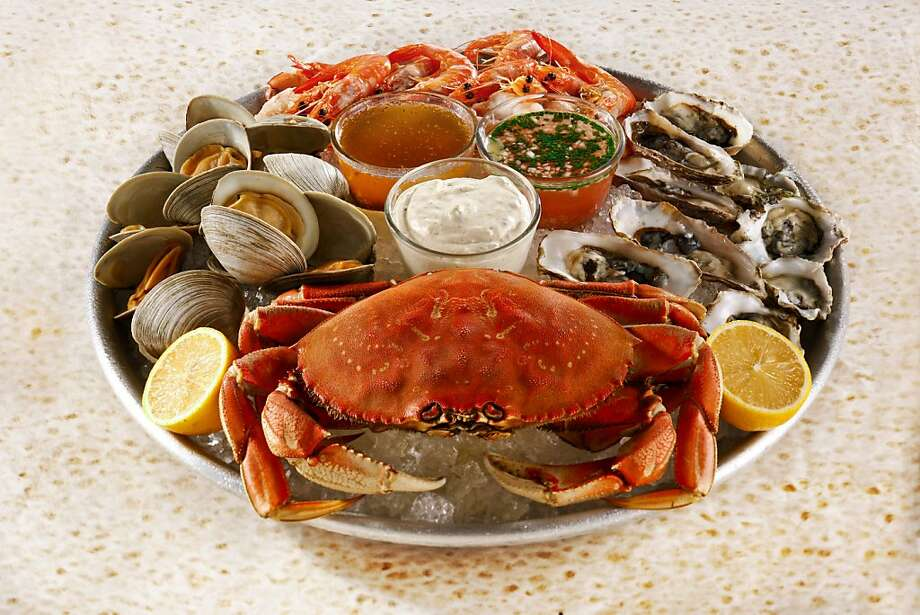 Seafood platter as seen in San Francisco, California, on Tuesday, December 11, 2012. Photo: Craig Lee, Special To The Chronicle