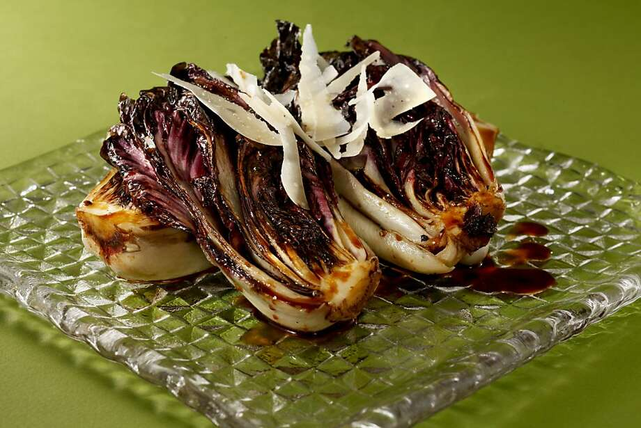 Seared Radicchio With Balsamic Drizzle; styling by Amanda Gold Photo: Craig Lee, Special To The Chronicle