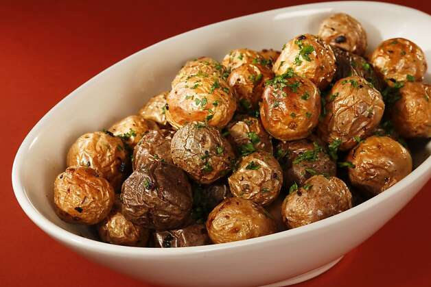 Roasted Marble Potatoes; styling by Amanda Gold Photo: Craig Lee, Special To The Chronicle