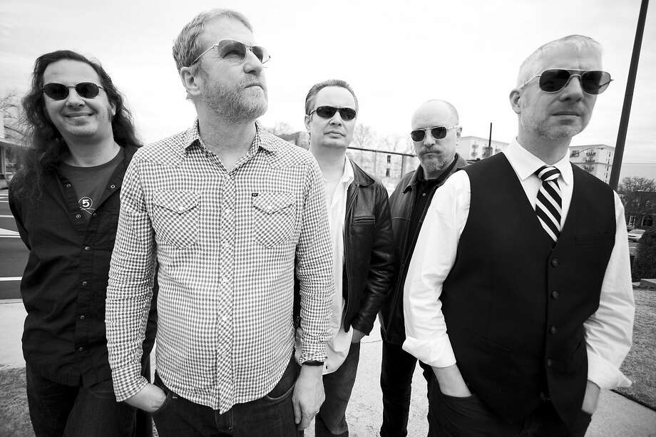 The band Camper Van Beethoven. Front man David Lowery (second from left) also fronts the band Cracker. Photo: Jason Thrasher 2012