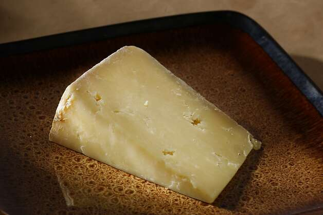 Take Borough Market Westcombe Cheddar, then add pears and sliced panforte, and there's dessert. Photo: Craig Lee, Special To The Chronicle