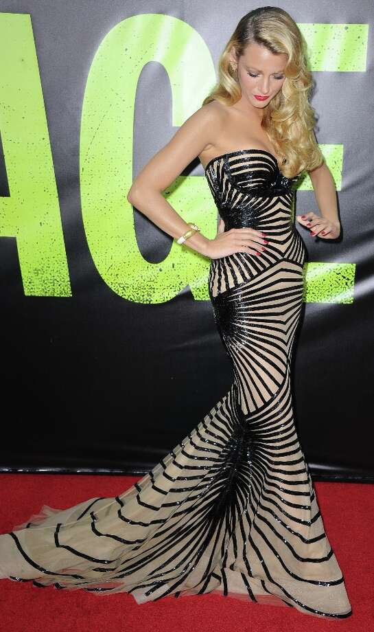 Blake Lively (Best Legs)    (JOE KLAMAR/AFP/GettyImages) Photo: JOE KLAMAR, AFP/Getty Images / 2012 AFP