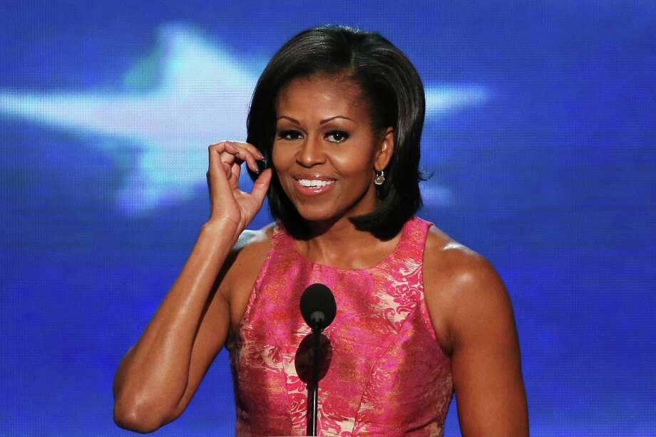 First Lady Michelle Obama (Best Arms).  (Photo by Alex Wong/Getty Images) Photo: Alex Wong, Getty Images / 2012 Getty Images