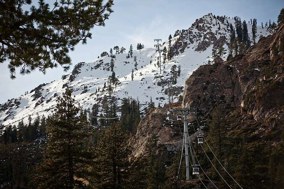 It's probably snowing at Squaw Valley (above), at its base elevation of 6,200 feet, if it's no more than 55 degrees and raining in Sacramento. Photo: Max Whittaker/Prime, Special To The Chronicle