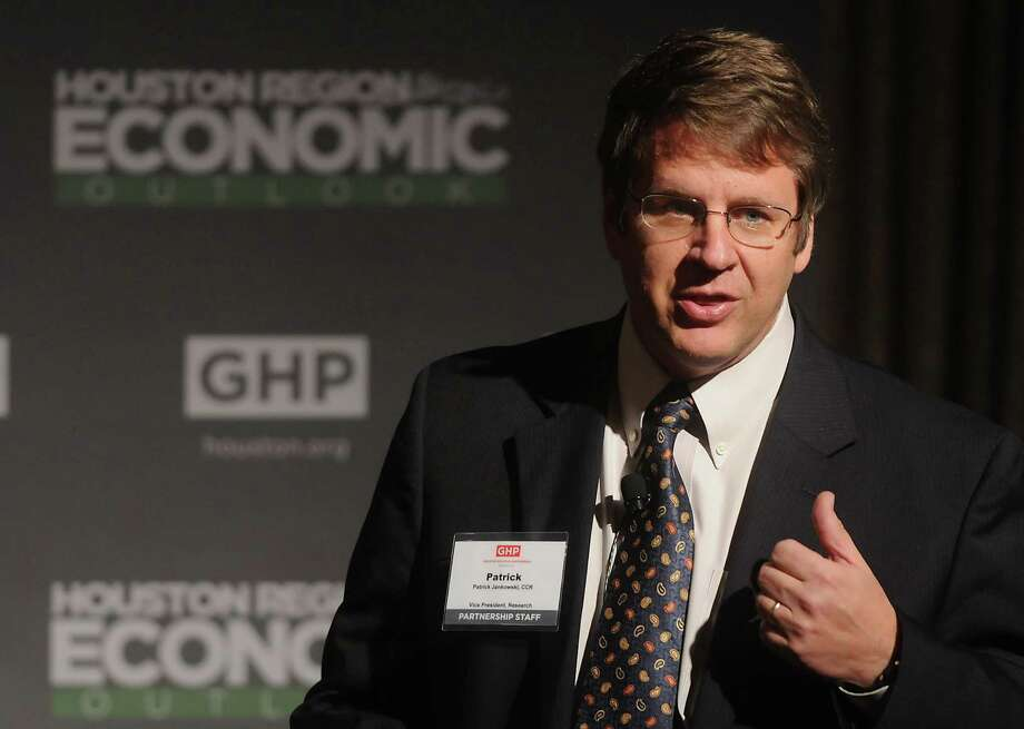 """The profuse bleeding has become a trickle,"" said Patrick Jankowski, a regional economist at the Greater Houston Partnership. Photo: Dave Rossman, Freelance / © 2012 Dave Rossman"