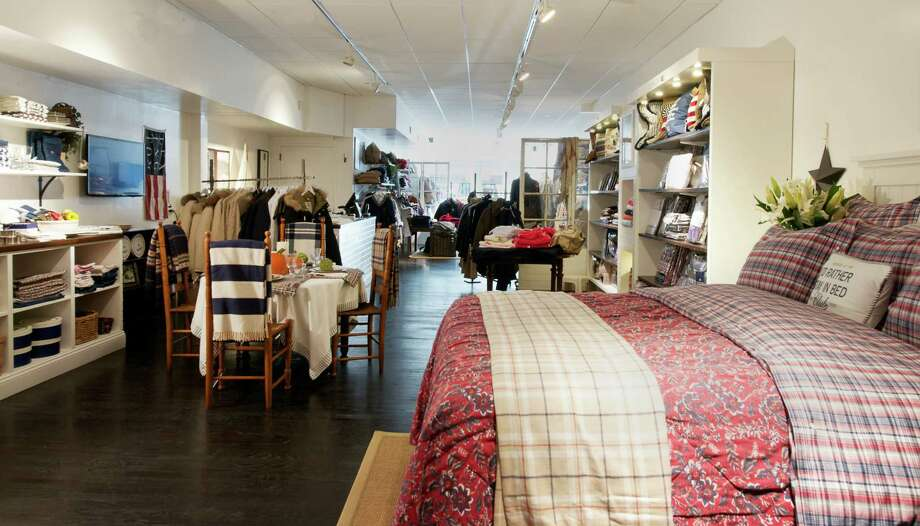 Lexington Company's second U.S. location in Greenwich, at 73 Greenwich Avenue, which opened last month. The Swedish-based company makes home decor and clothing lines to fit in with a New England aesthetic. Photo: Contributed Photo / Stamford Advocate Contributed