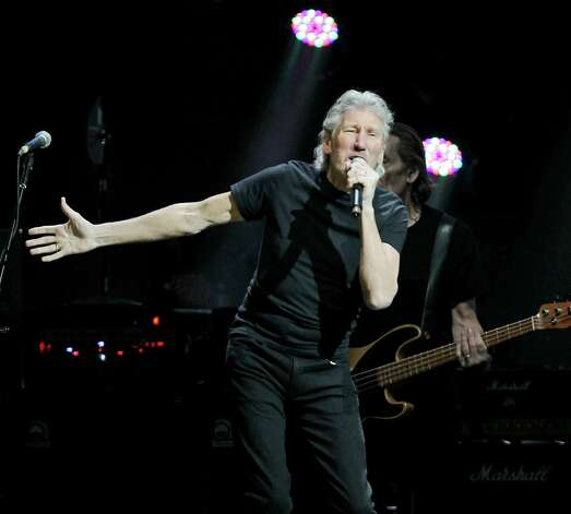 This image released by Starpix shows Roger Waters performing at the 12-12-12 The Concert for Sandy Relief at Madison Square Garden in New York on Wednesday, Dec. 12, 2012. Proceeds from the show will be distributed through the Robin Hood Foundation. (AP Photo/Starpix, Dave Allocca) Photo: Dave Allocca, Associated Press / Associated Press