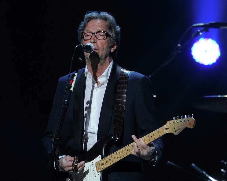 NEW YORK, NY - DECEMBER 12:  Eric Clapton performs at